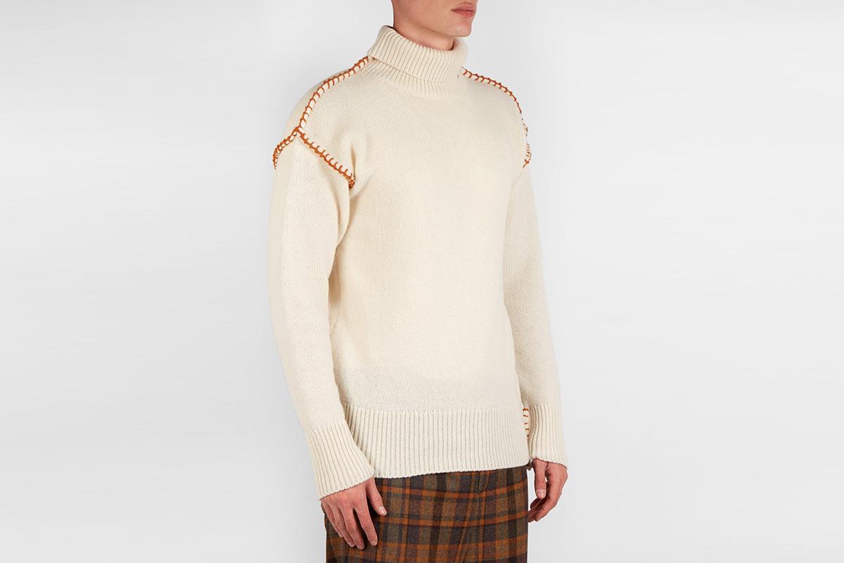 Blanket Stitch Sweater