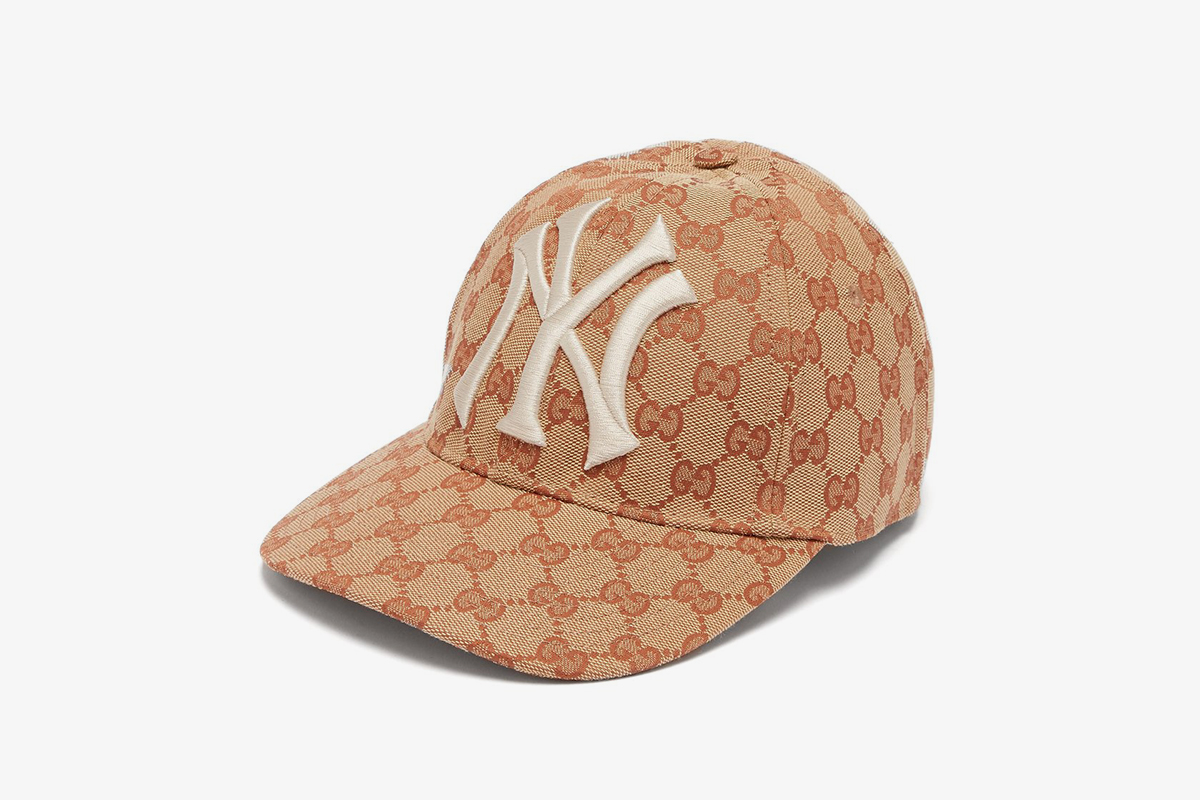 NY Yankees-logo GG-canvas cap