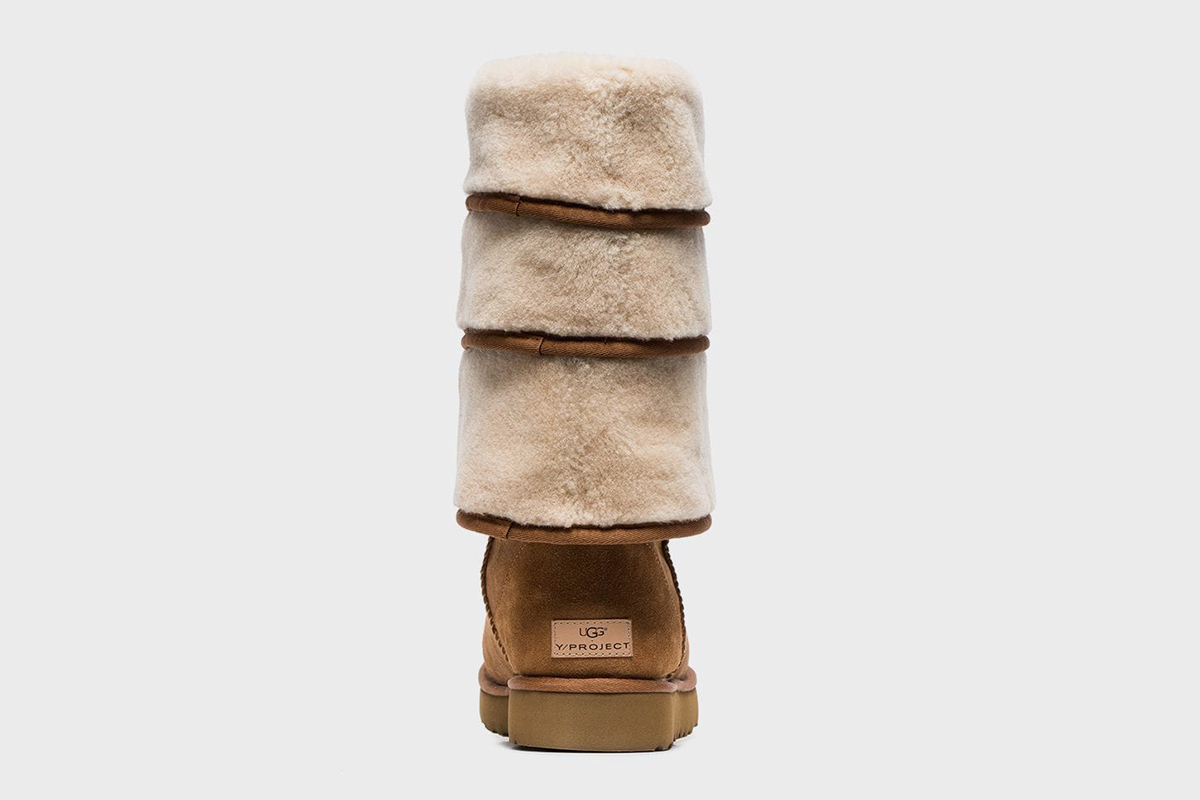 Triple Layered Shearling Boots