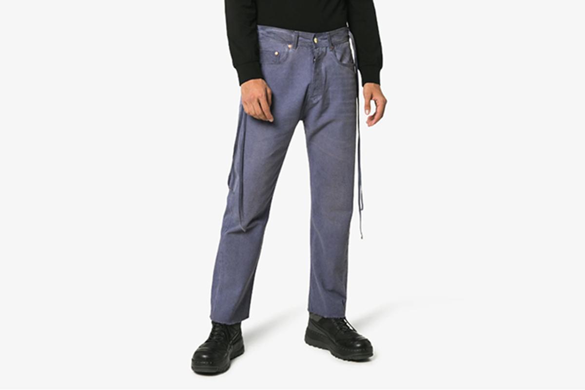 Raw Hem Jeans