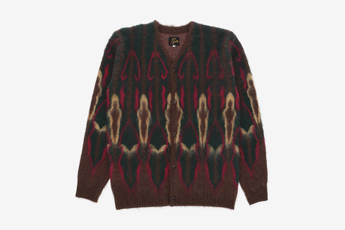 Mohair Psychedelic Cardigan