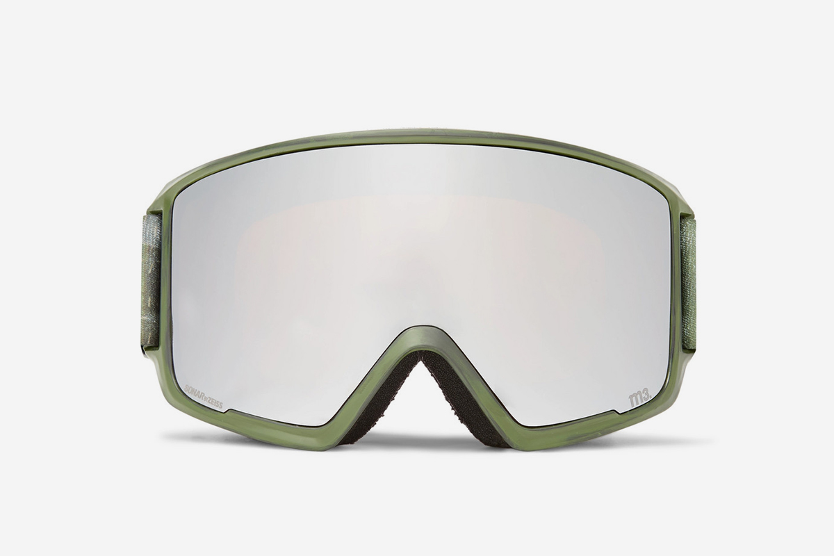 M3 Ski Goggles And Stretch-Jersey Face Mask