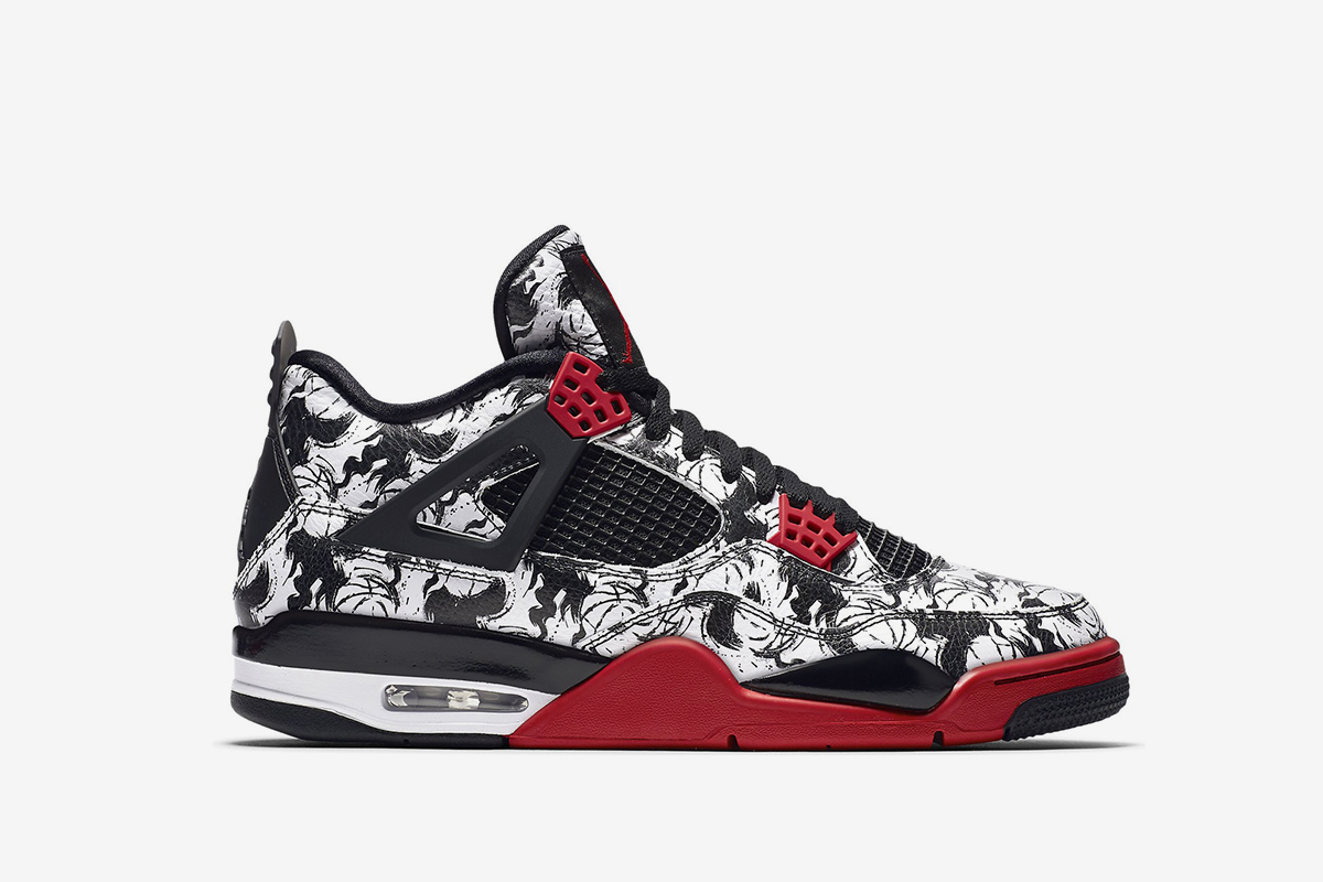 Jordan 4 Retro Tattoo 2018