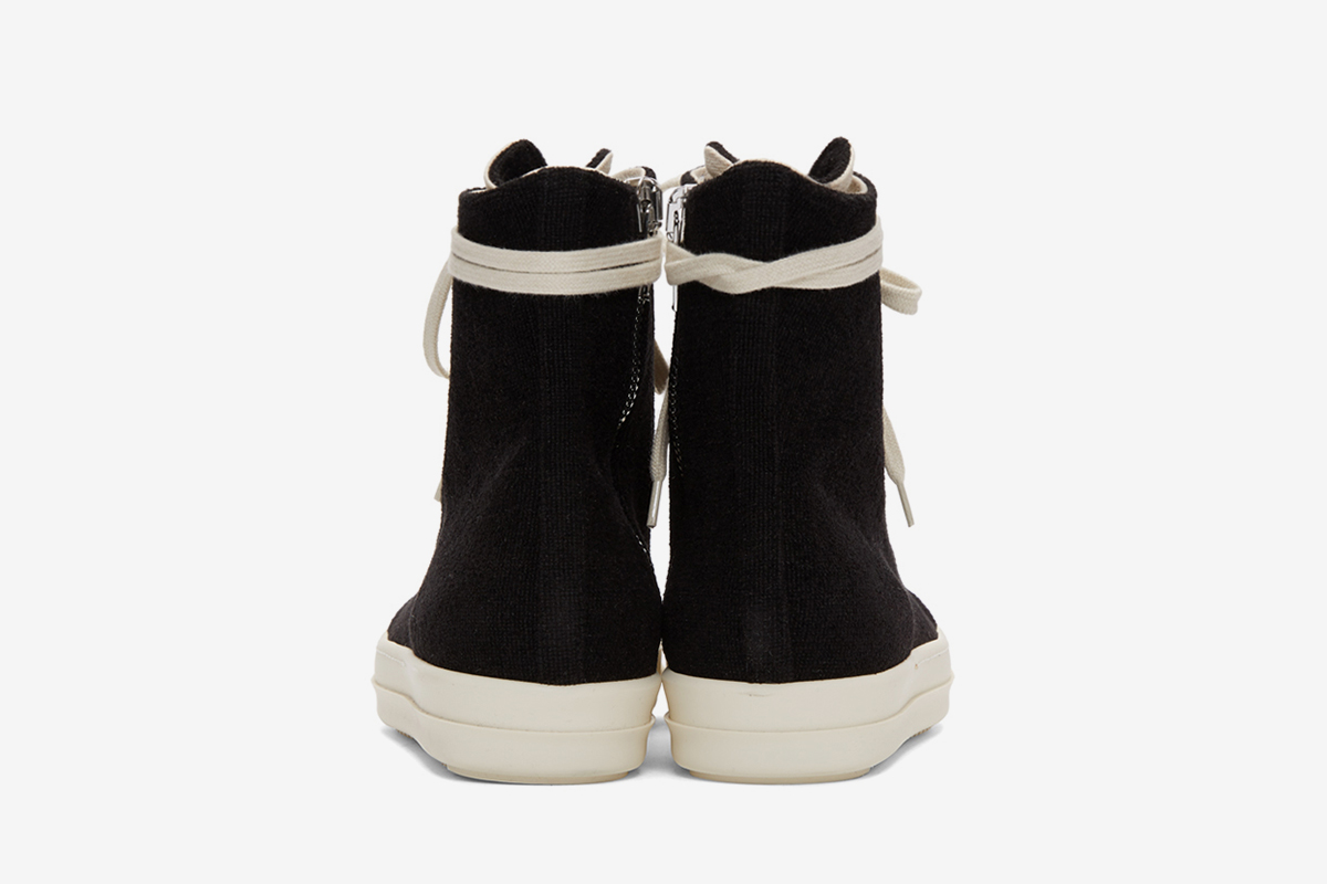 Velour Sneakers High