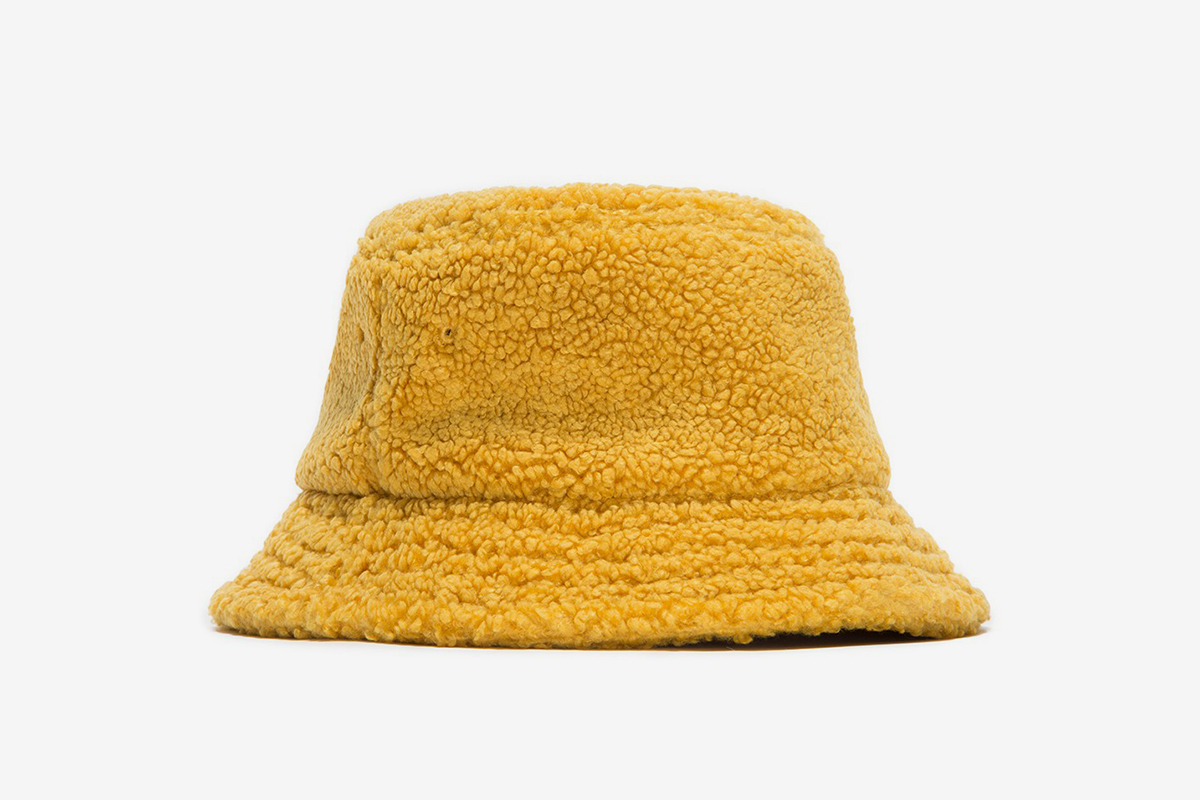 Sherpa Fleece Bucket Hat