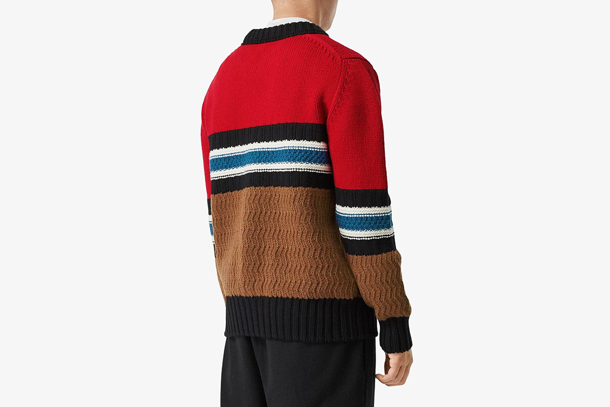 Chunky Knitted Stripe Jumper