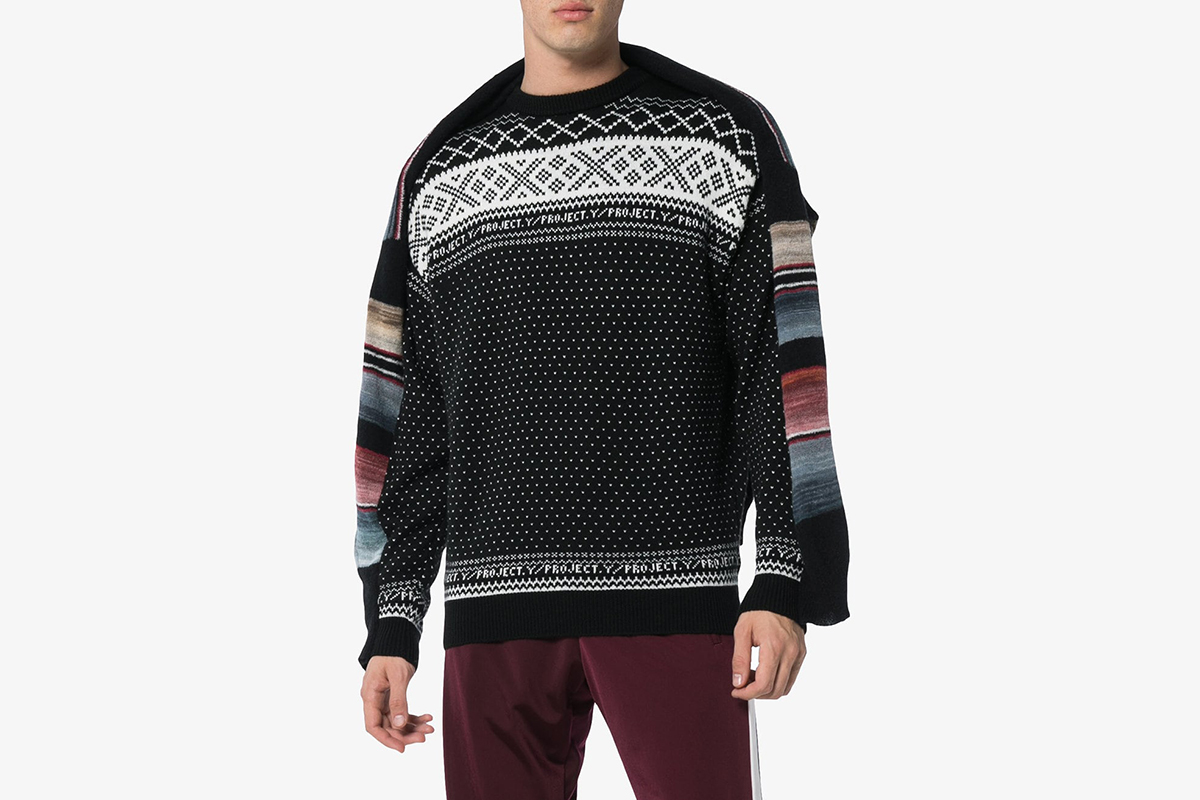 Norwegian Panelled Knit Jumper