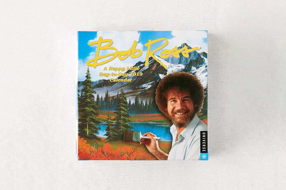 2019 Bob Ross 365-Day Desk Calendar