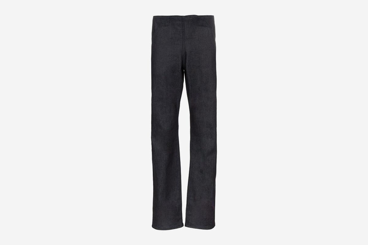 Velcro Flap Front Jeans