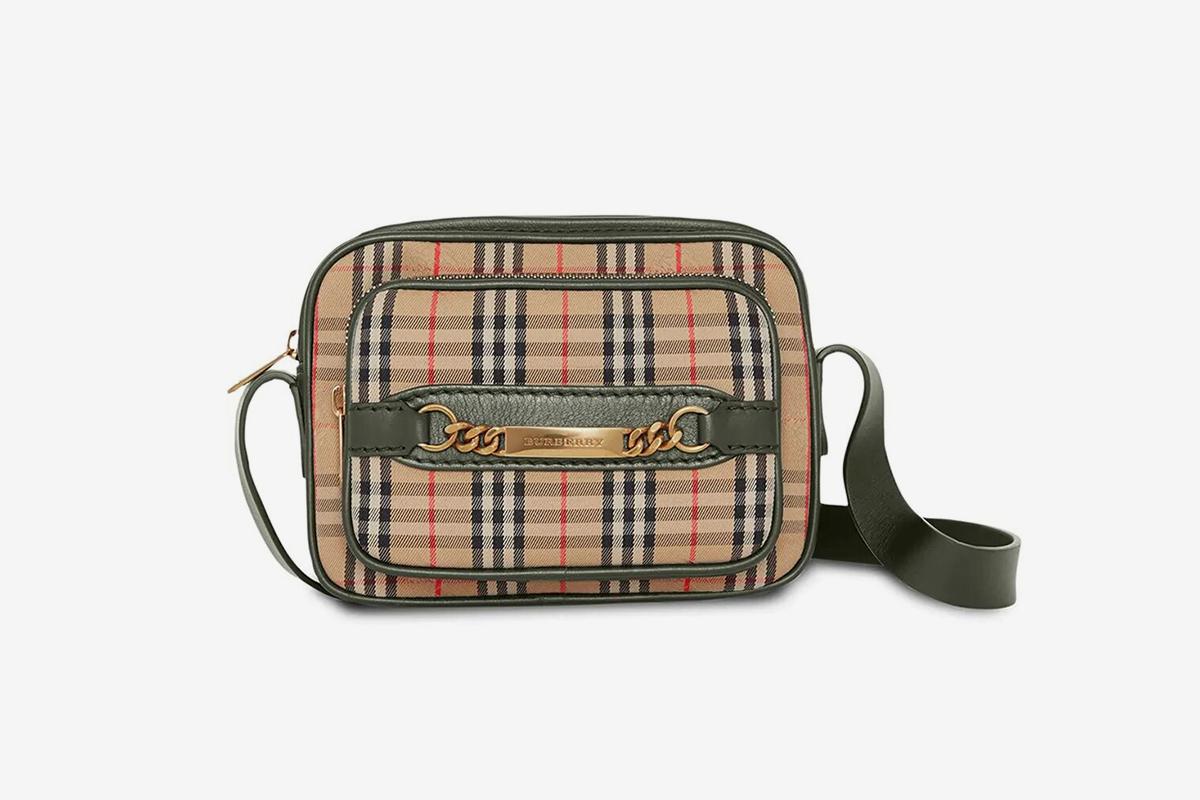 1983 Check Link Camera Bag