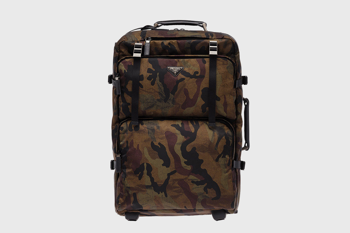 Camouflage Suitcase