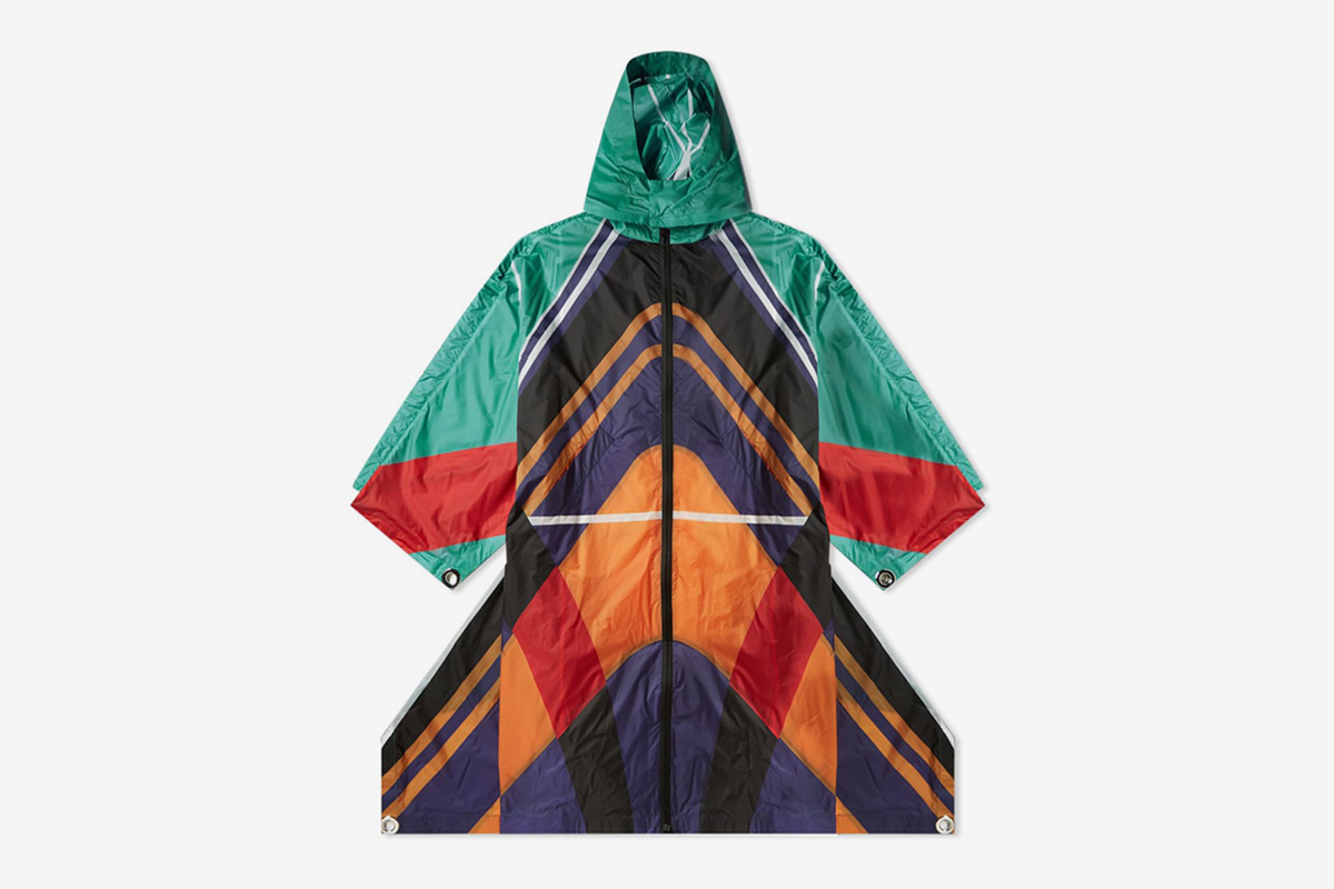 Ripstop Flag Oversized Coat