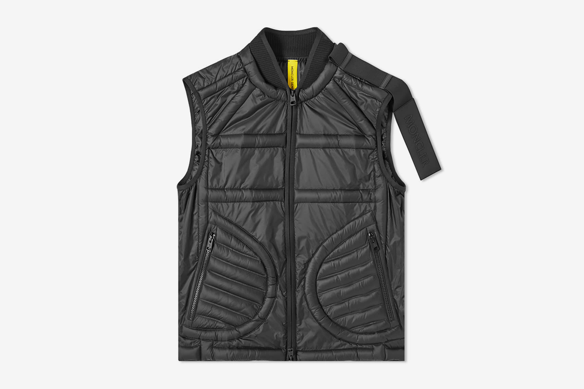 Nylon Light Down Vest
