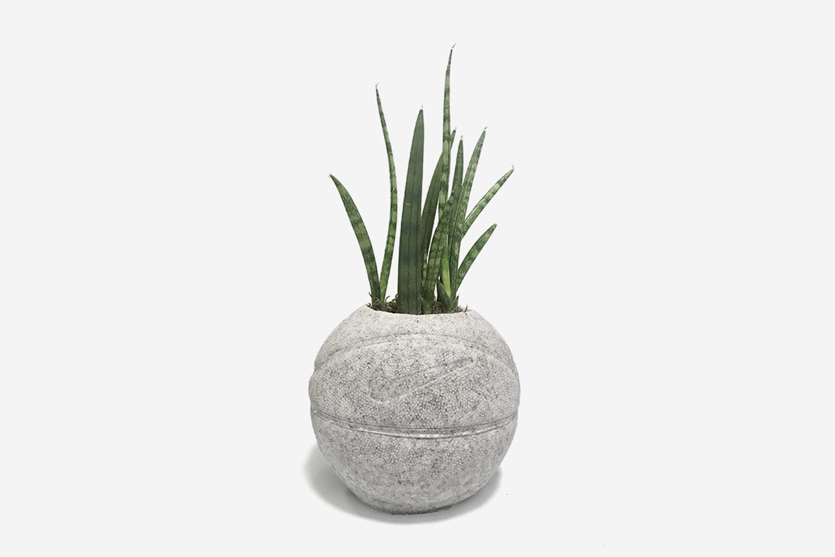 Basketball Planter Resin