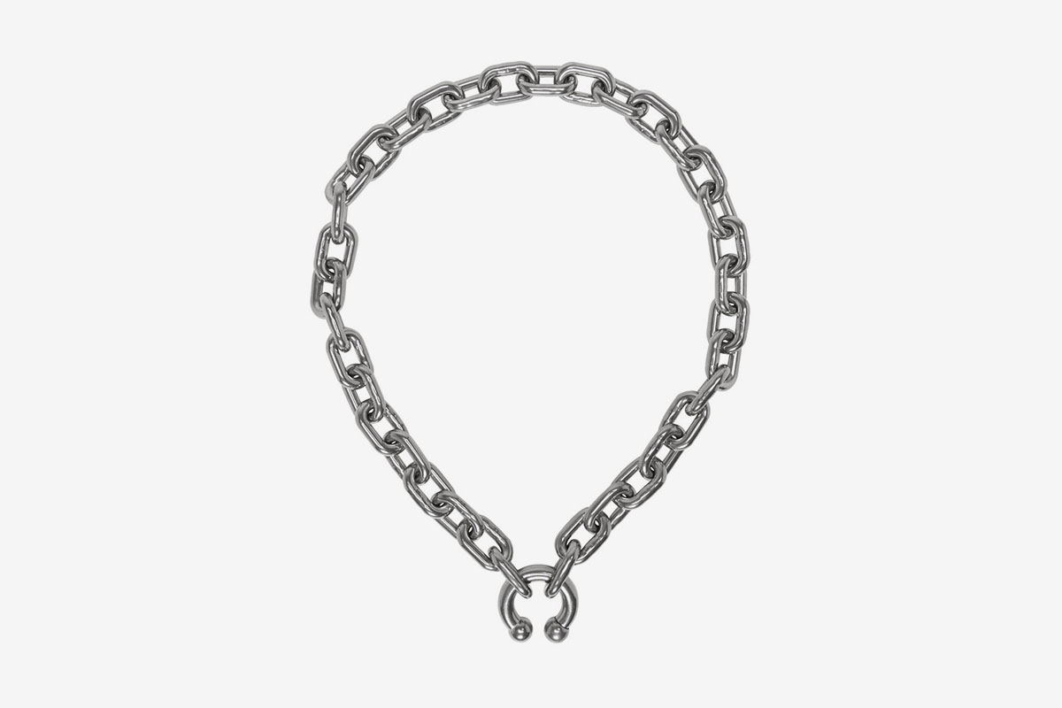 Silver P.A. Necklace