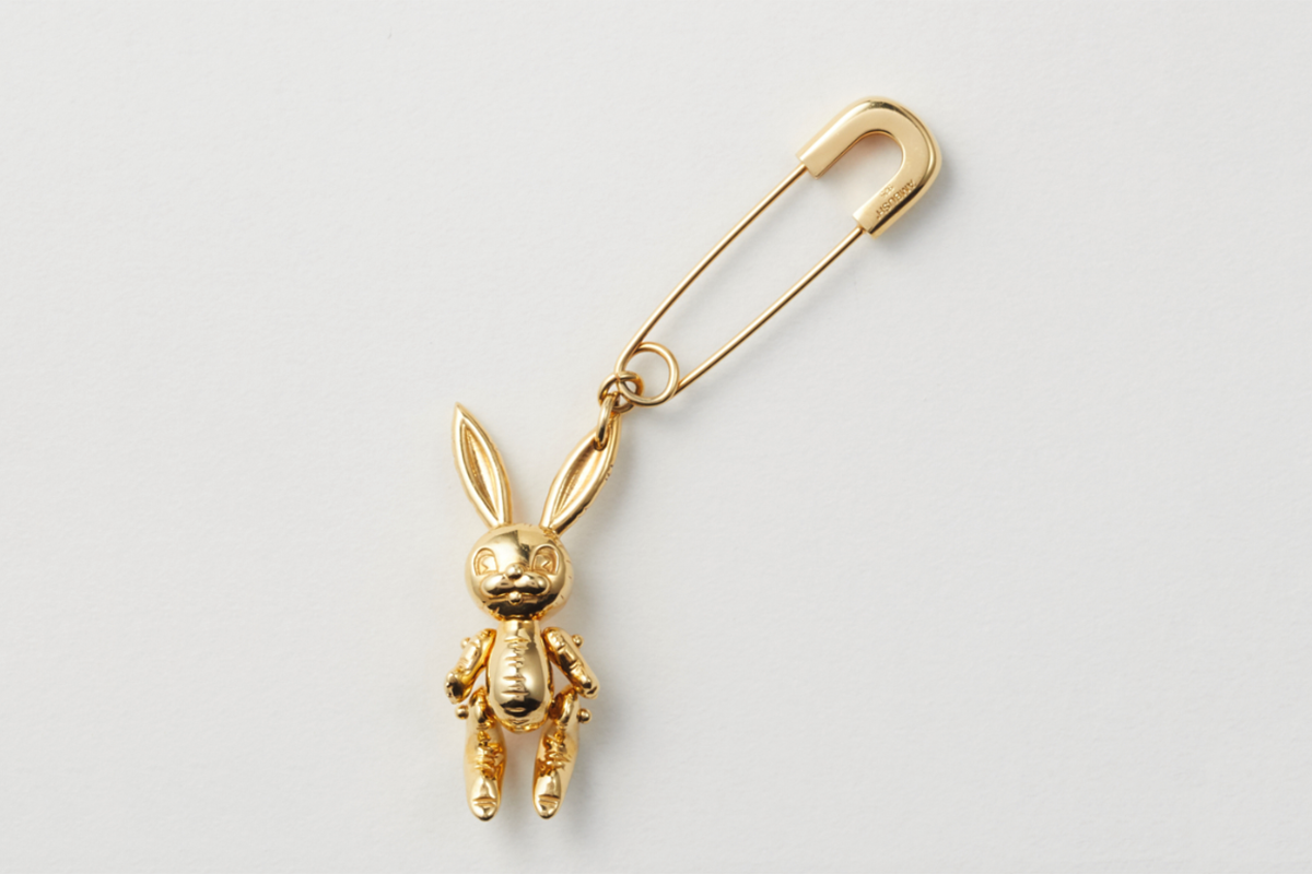 Inflated Bunny Earring