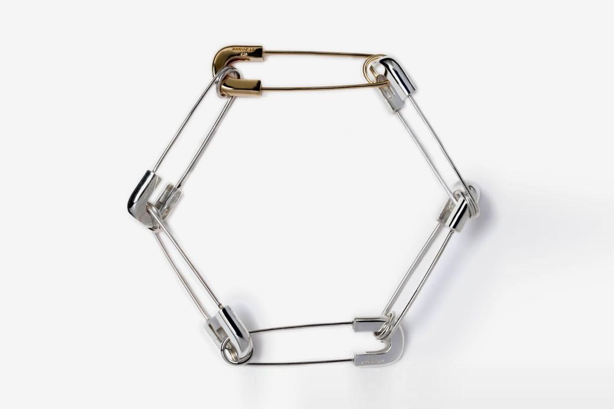 Safety Pin Link Bracelet
