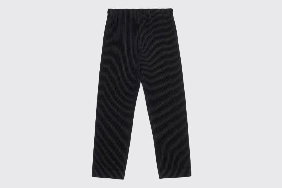Pleated Narrow Pants