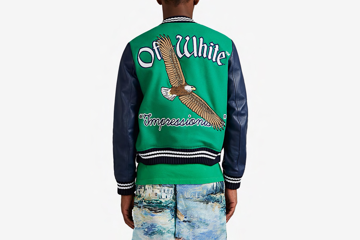 """Impressionism"" Varsity Jacket"
