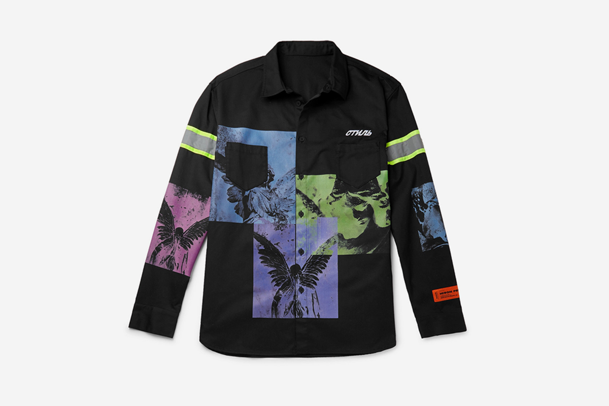 MR. PORTER EXCLUSIVE Reflective Shirt