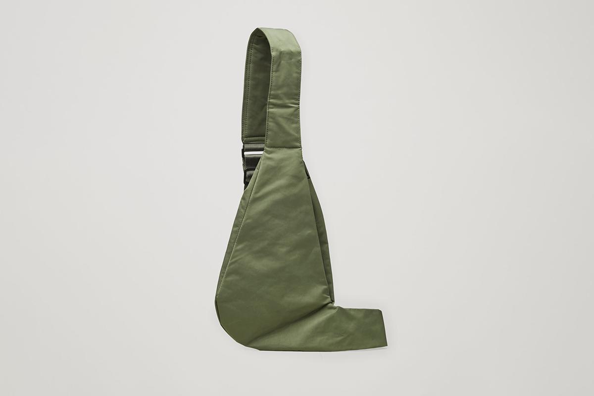 One-Shoulder Nylon Bag