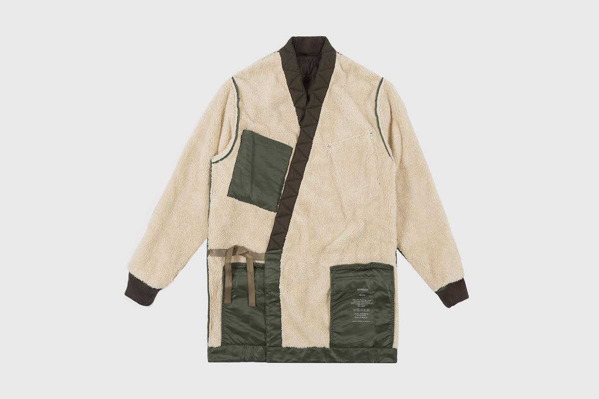 Reversible Flight Kimono