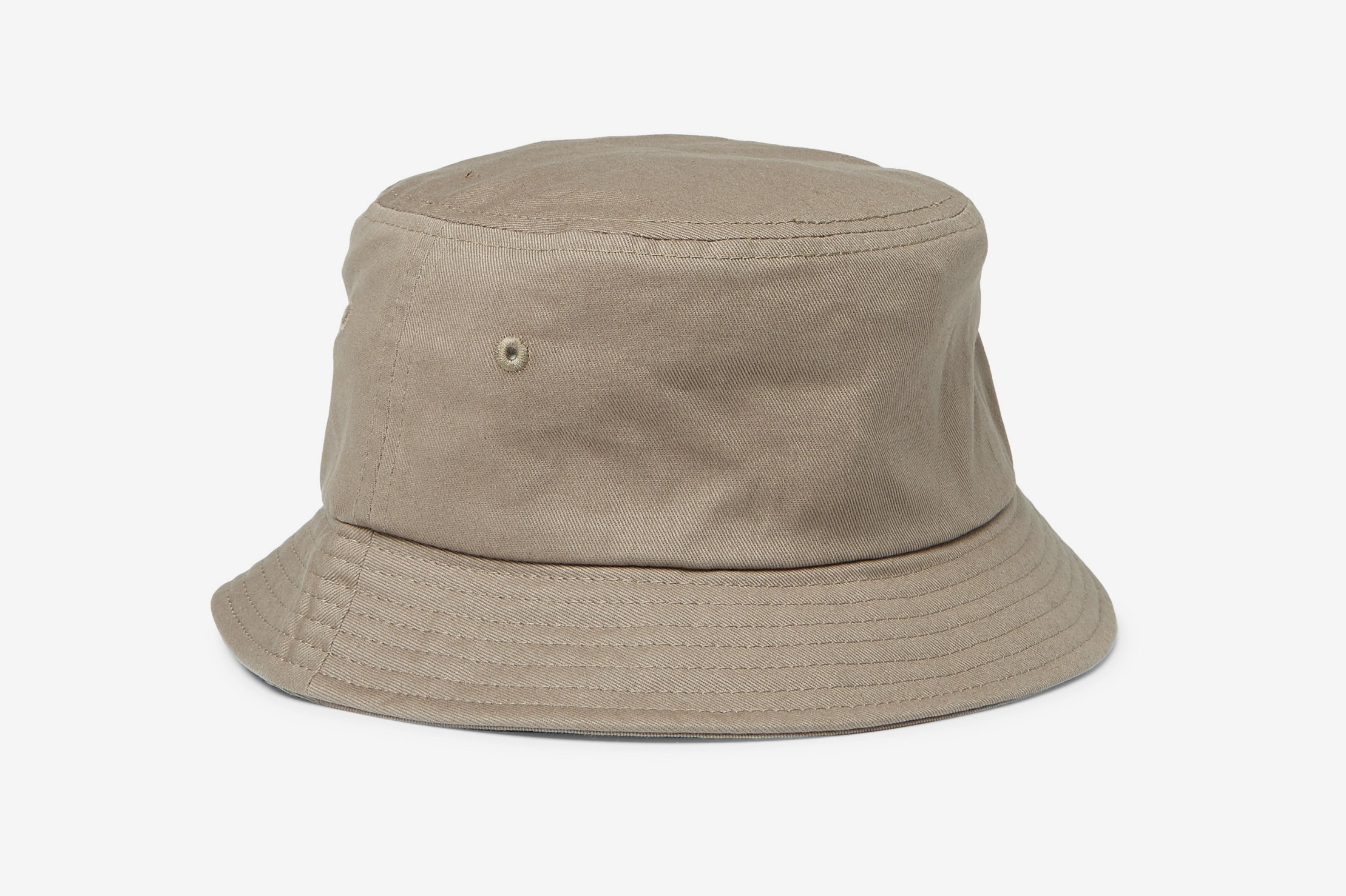 Logo-Embroidered Cotton-Canvas Bucket Hat