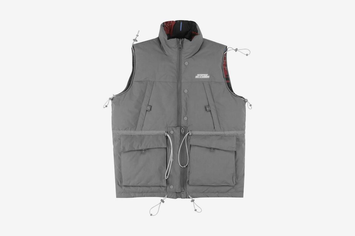 """System On Carbon"" Reversible Vest"