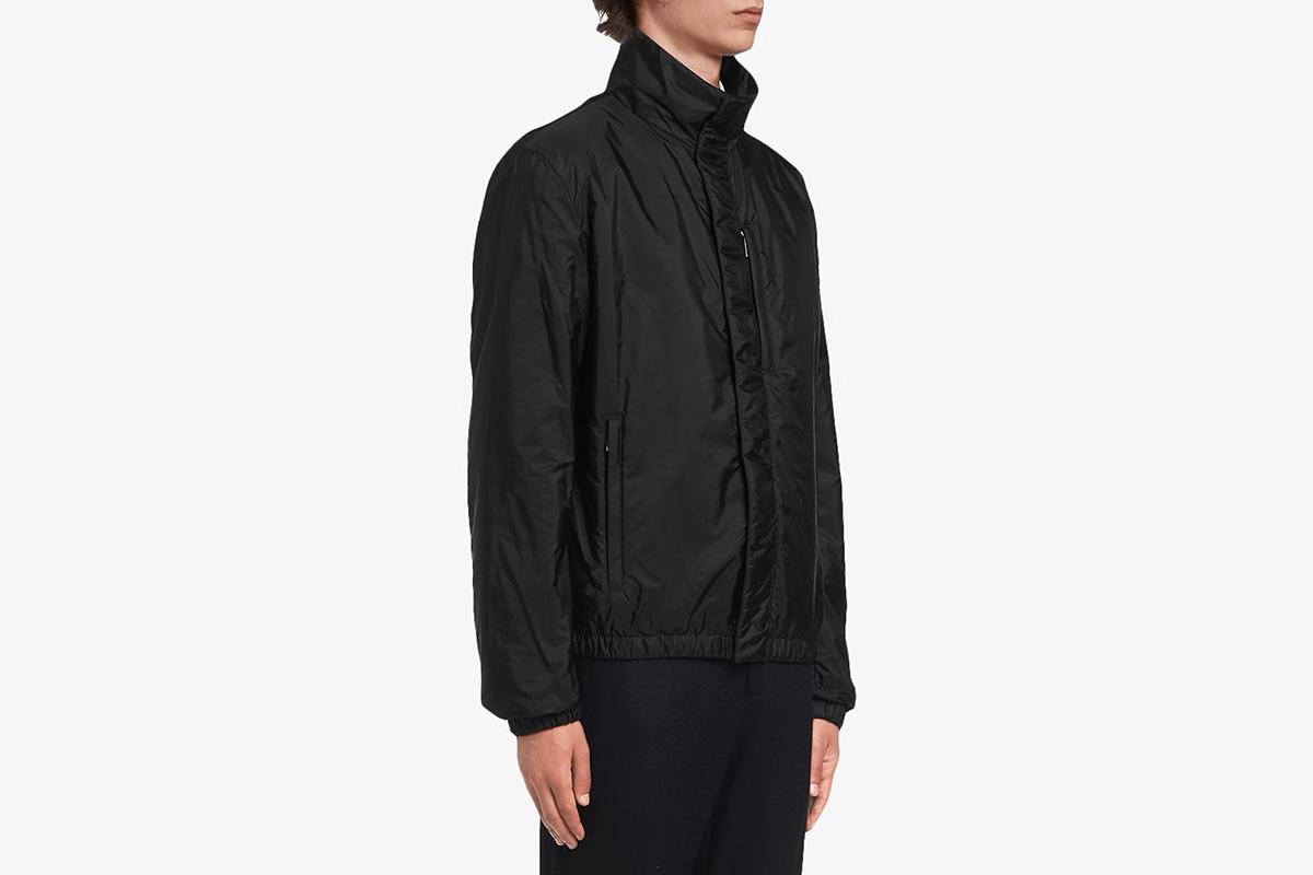 Funnel-neck Windbreak Jacket