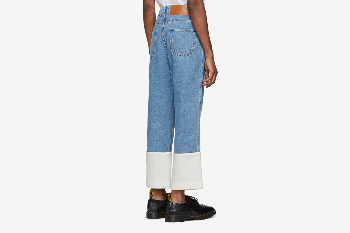 Blue Fisherman Jeans