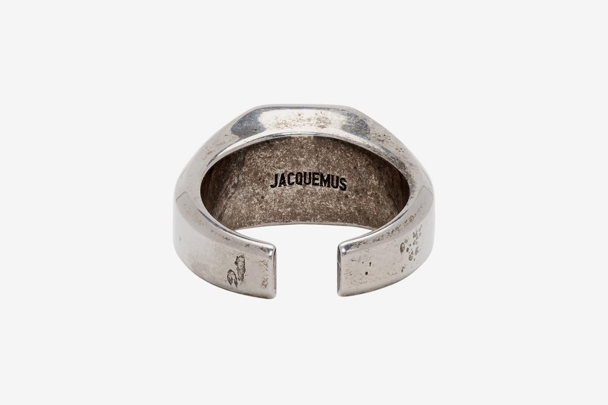 Silver 'La Chevalière' Ring