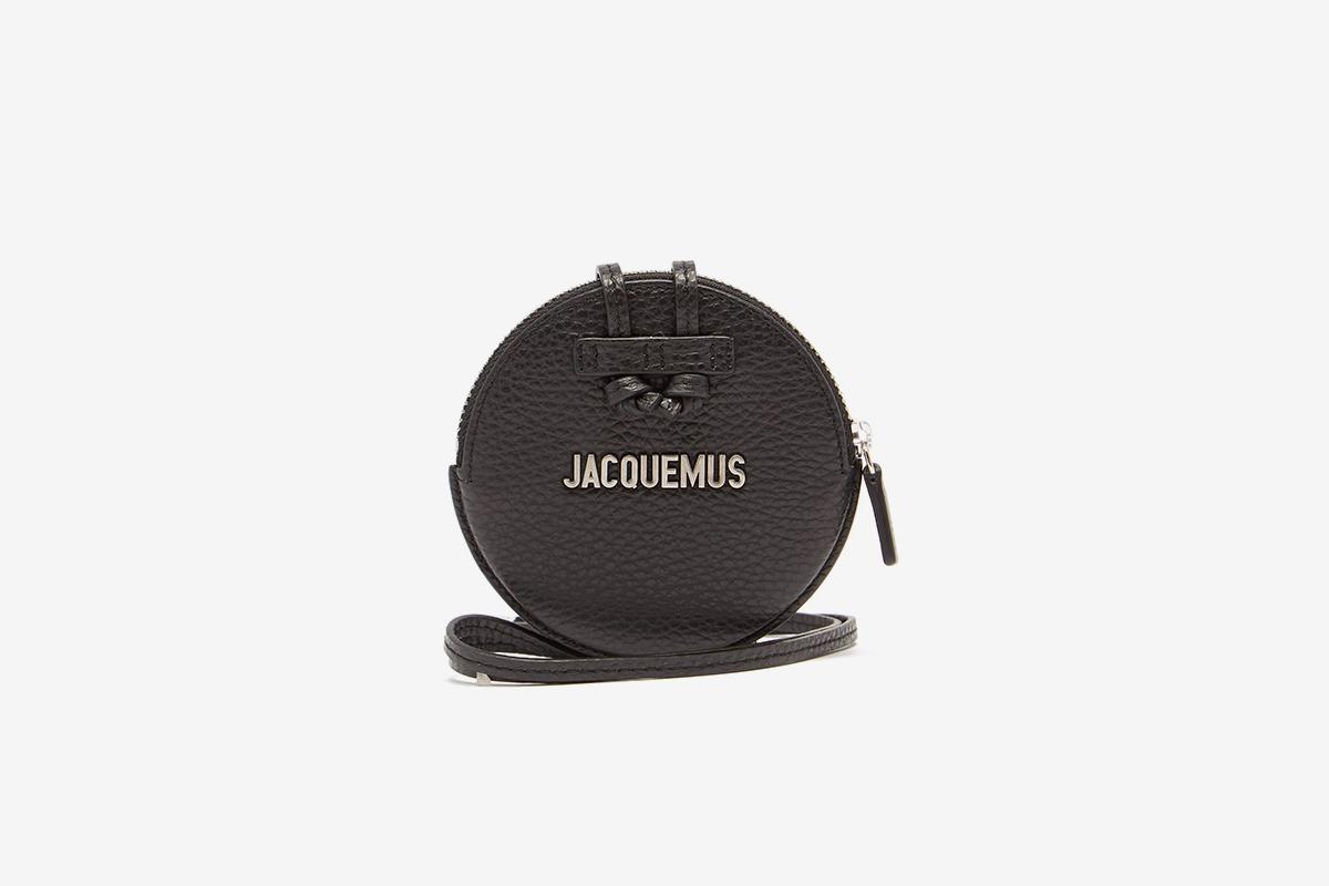 Le Pitchou Leather Necklace Bag