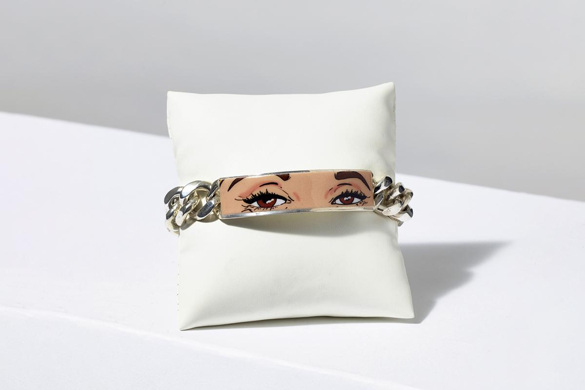 Ann Dexter-Jones ID bracelet