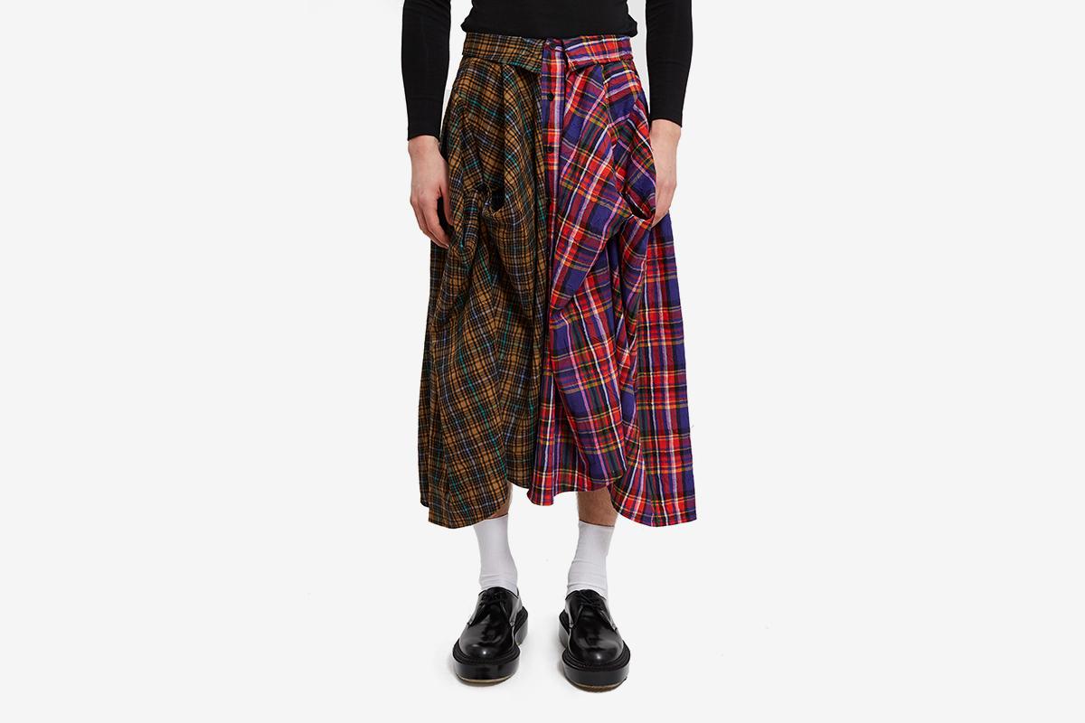 Two Shirts Skirt
