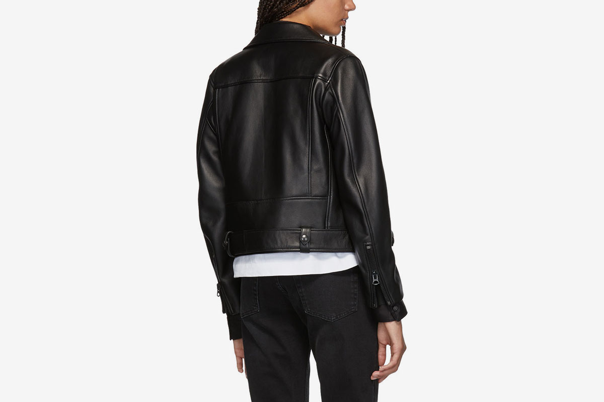 Leather Mock Jacket