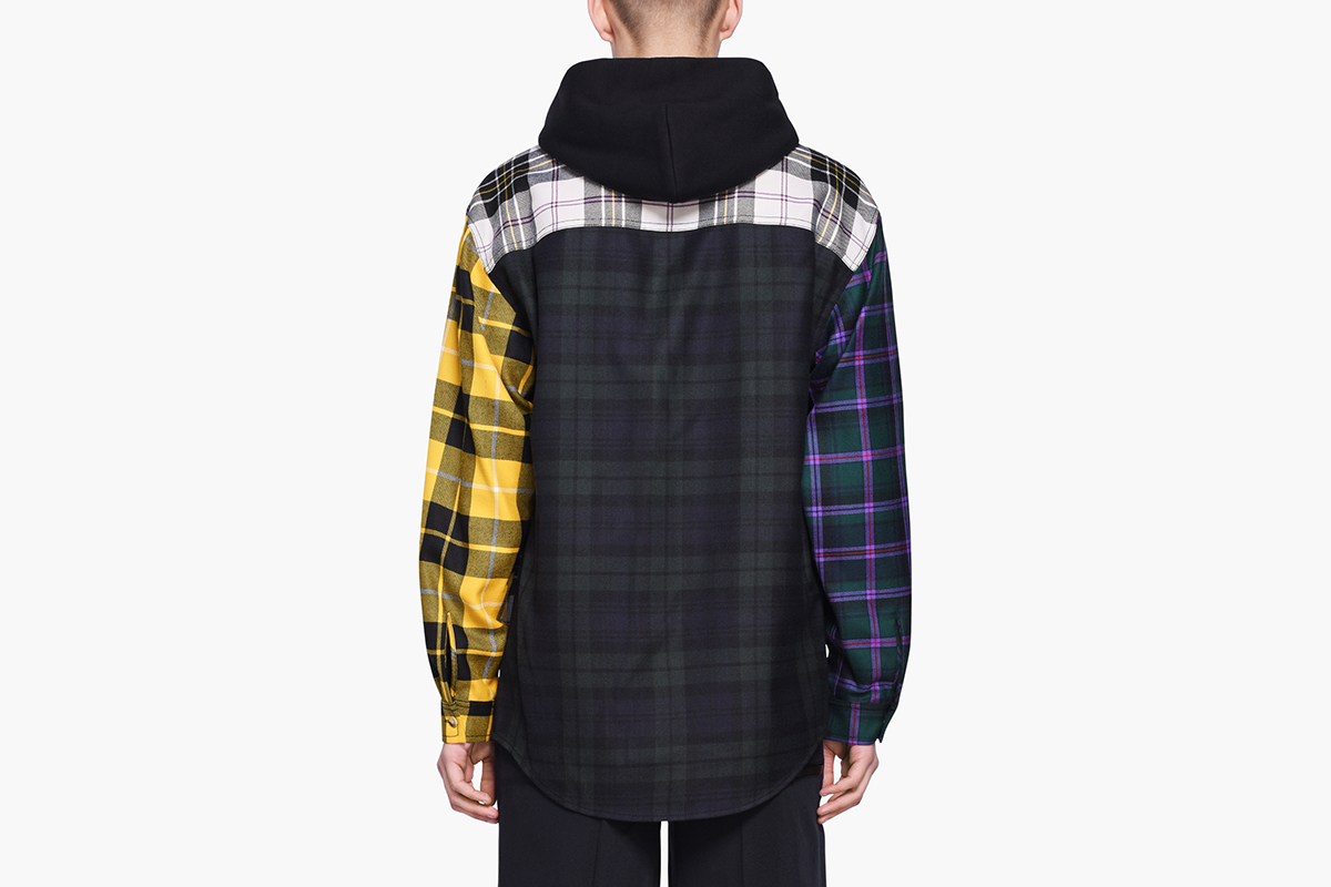 Multi Plaid Overshirt