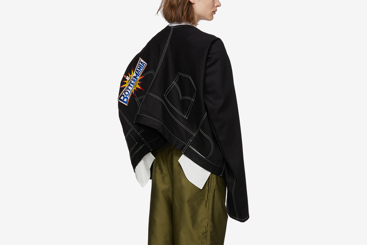 Denim Trouser Jacket