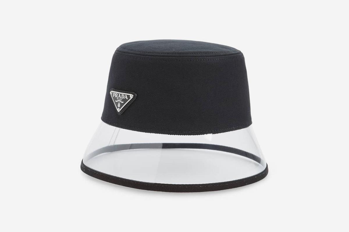 Clear Brim Bucket Hat