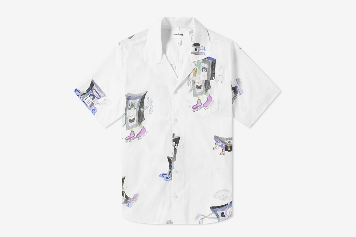 VHS Print Vacation Shirt