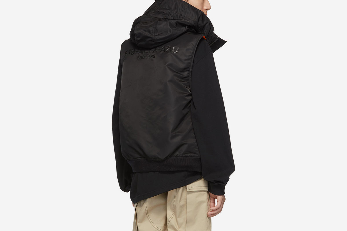 Hooded MA-1 Vest