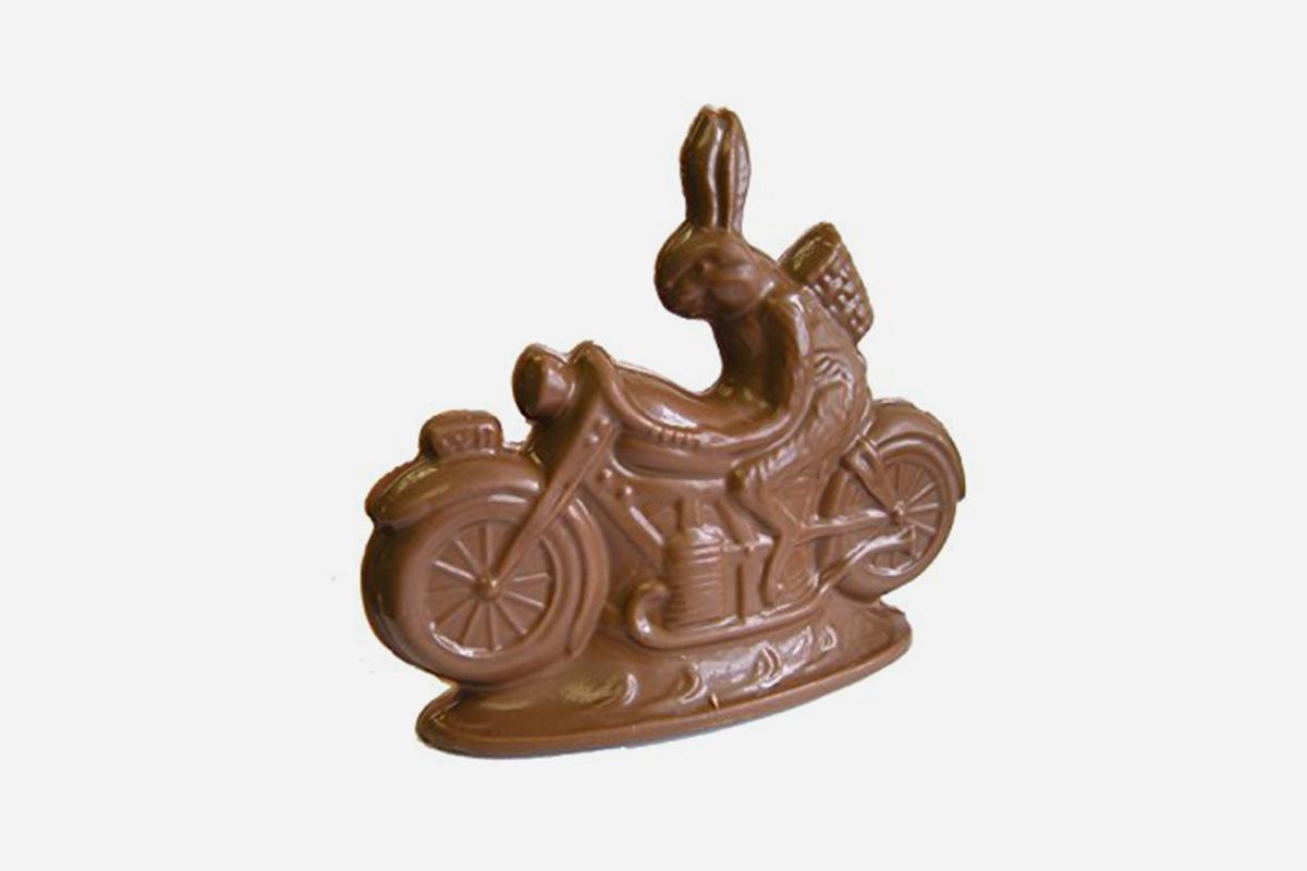 Chocolate Motorcycle Bunny