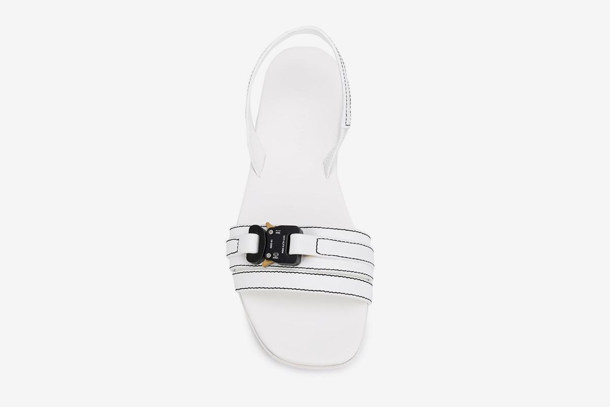 Metal Buckle Sandals