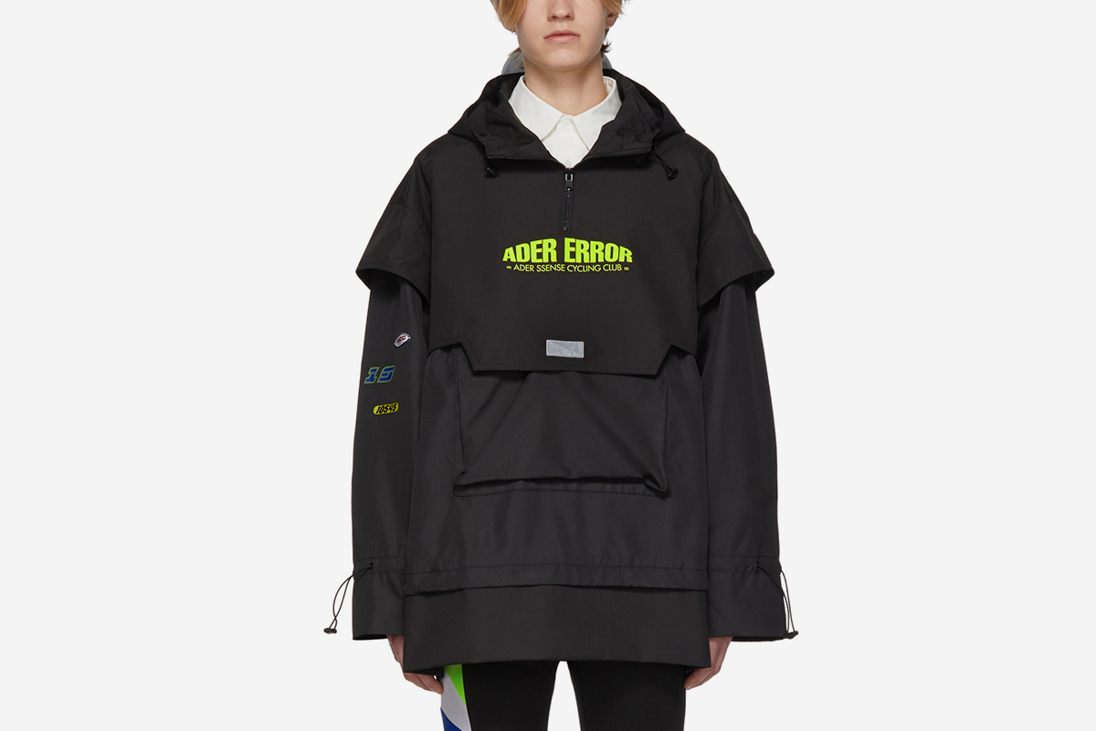 ASCC Oversized Layered Anorak Jacket