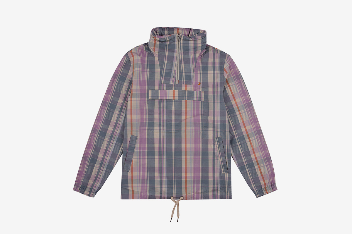 Antonio Check Overhead Jacket