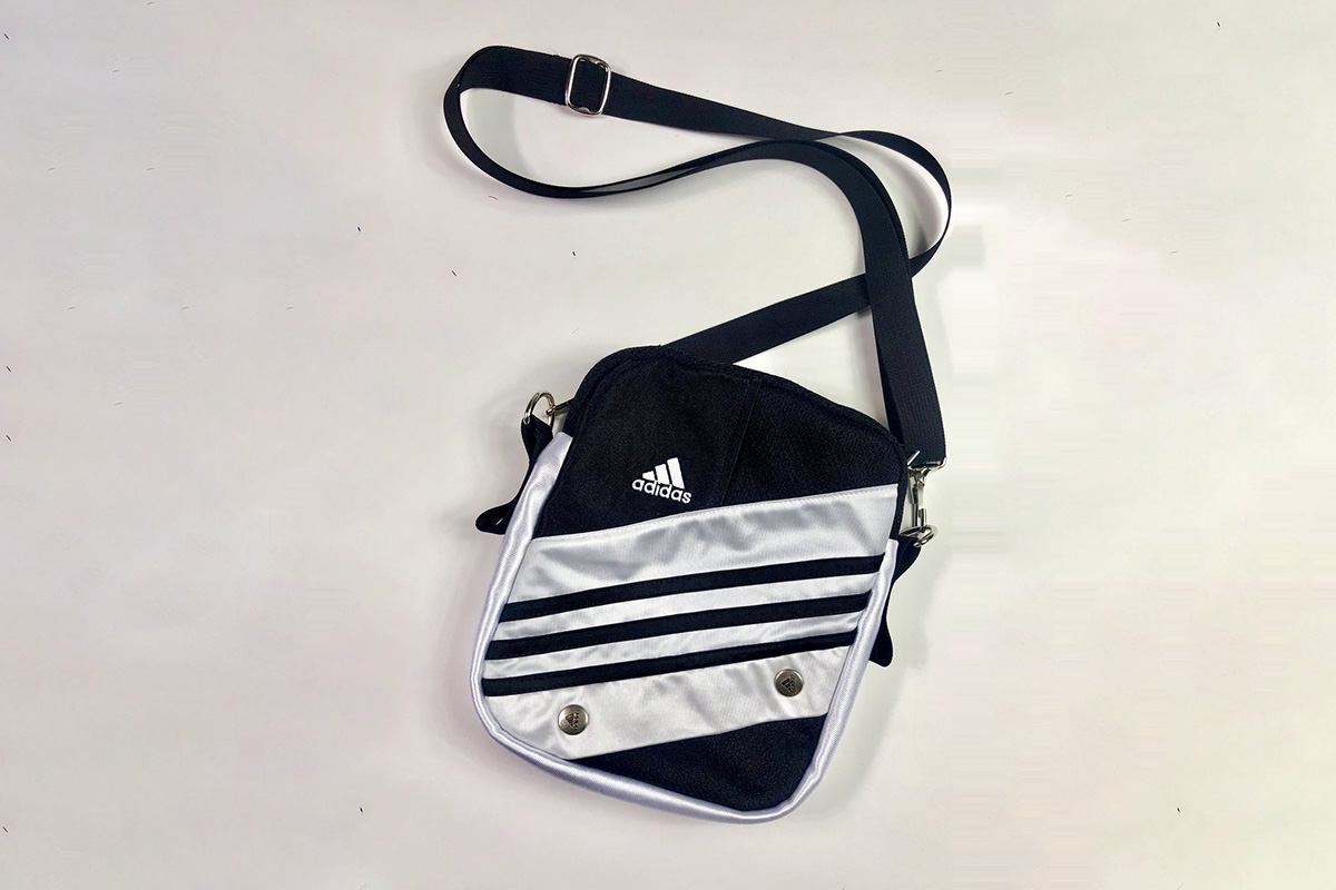 Reworked Adidas Bag