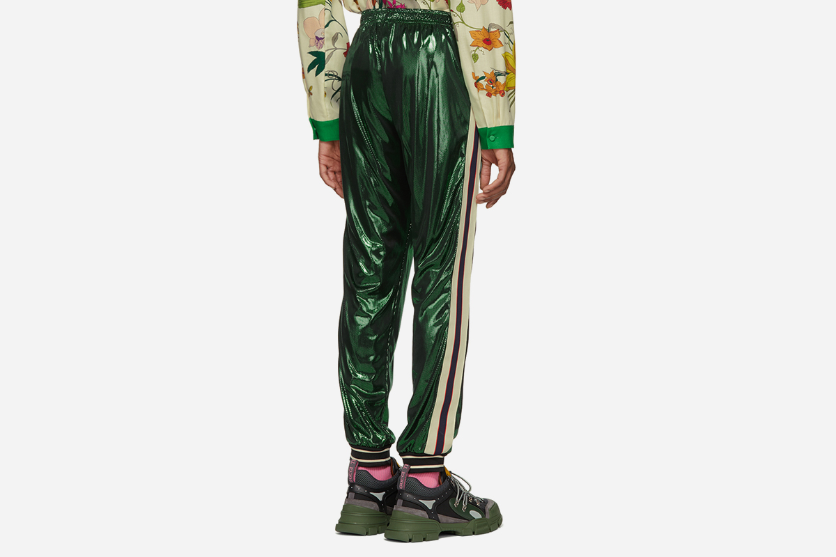 Laminated Lounge Pants