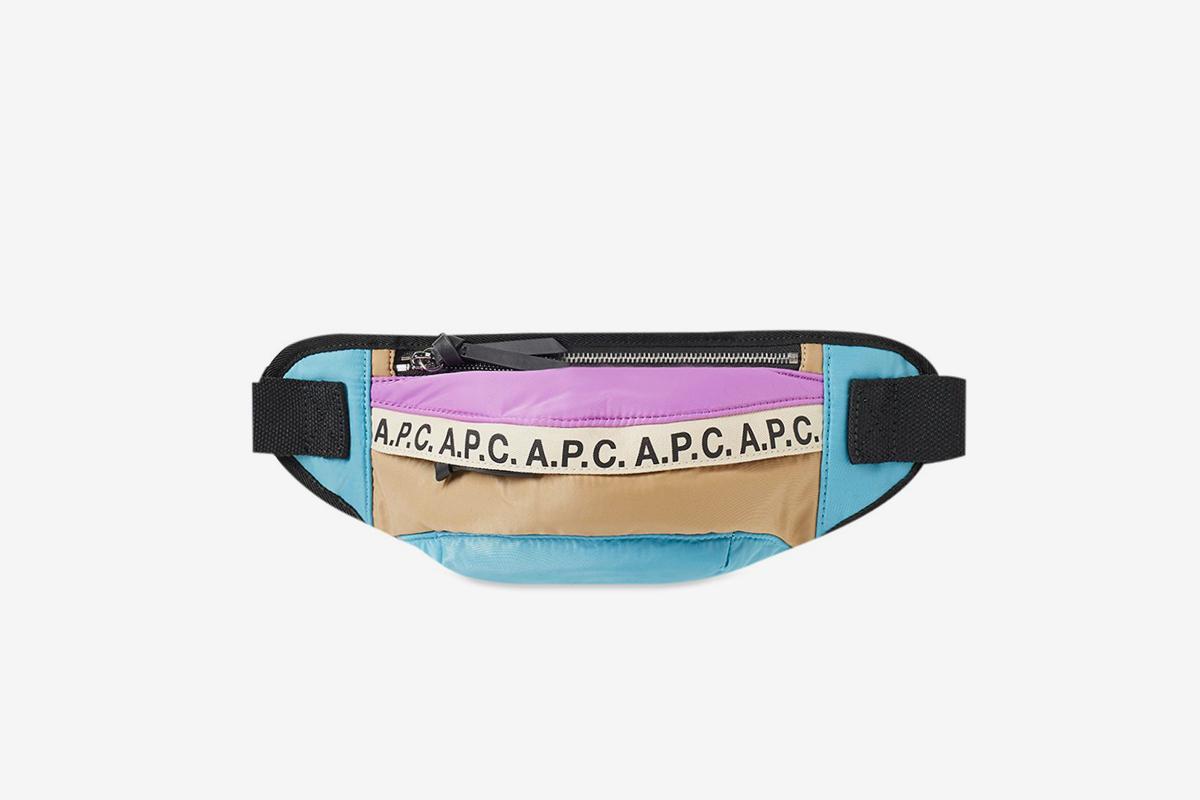 Lucille Tape Logo Waist Bag