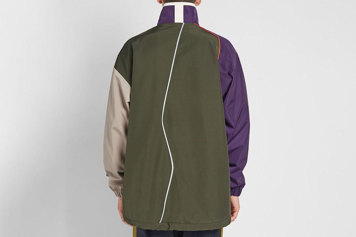Colour Block Zip Jacket