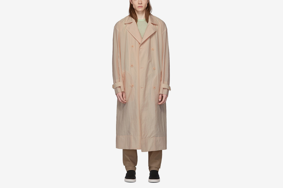 SSENSE Exclusive Windbreaker Trench Coat