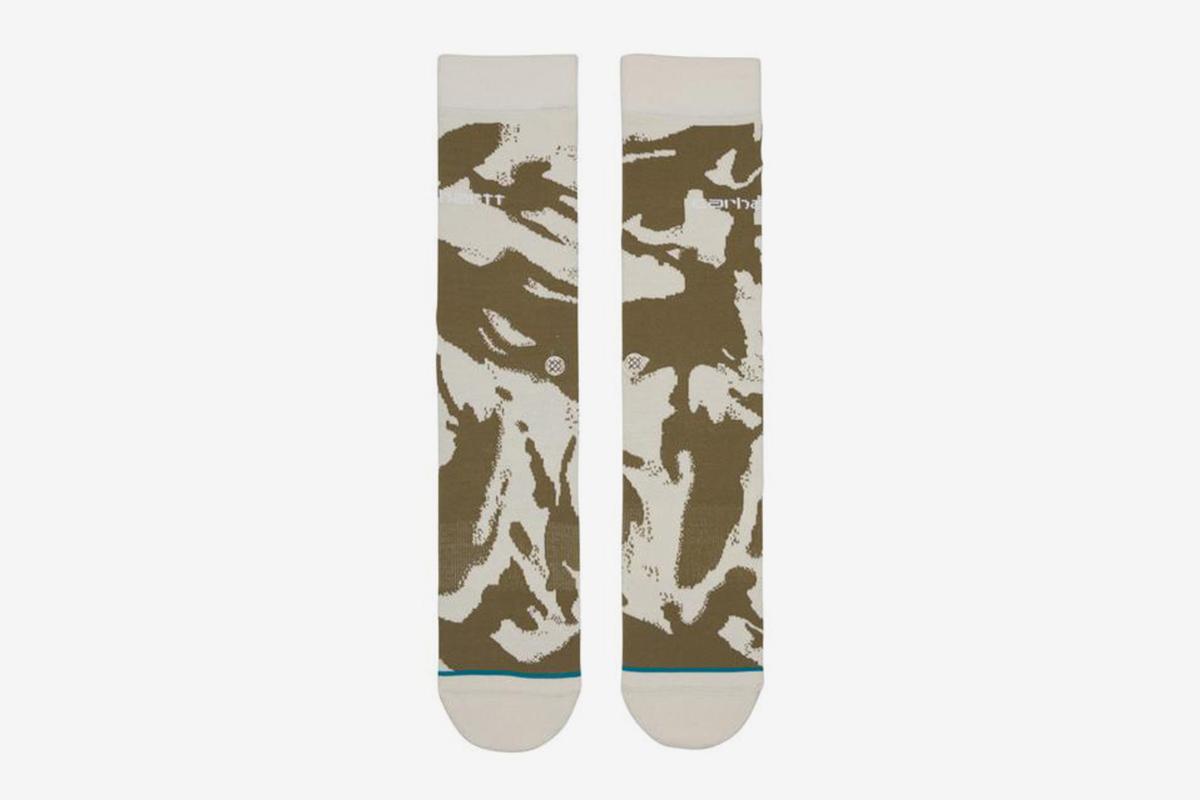 Camo Brush Socks